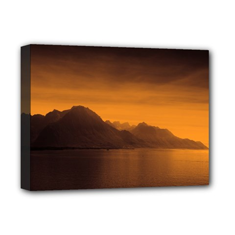 Waterscape, Switzerland Deluxe Canvas 16  X 12  (stretched)  by artposters