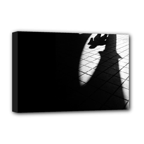 Shadows Deluxe Canvas 18  X 12  (stretched) by artposters