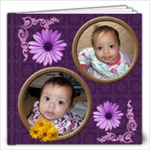 Pretty Daisies photo book - 12x12 Photo Book (20 pages)