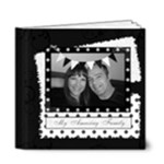 Black white my amazing family photo album - 6x6 Deluxe Photo Book (20 pages)
