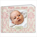 12Month Baby Girl - 7x5 Photo Book (20 pages)