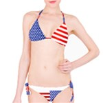 Red White and Blue Bikini - Bikini Set
