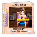 Landry First Birthday - 8x8 Photo Book (20 pages)