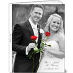 Bec and Jarrad - 9x12 Deluxe Photo Book (20 pages)