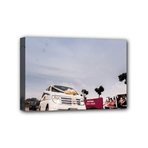 Wedding Car 4  X 6  Framed Canvas Print by Unique1Stop