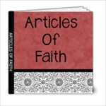 ARTICLES OF FAITH BOOK - 6x6 Photo Book (20 pages)