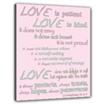 Church Bible Verse 1Cor No.3 - Canvas 24  x 20  (Stretched)