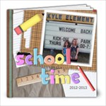 School Year 2012-2013 - 8x8 Photo Book (20 pages)
