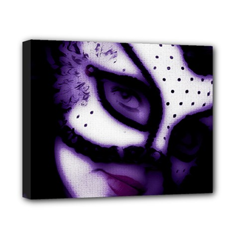 Purple M Canvas 10  X 8  (framed) by dray6389
