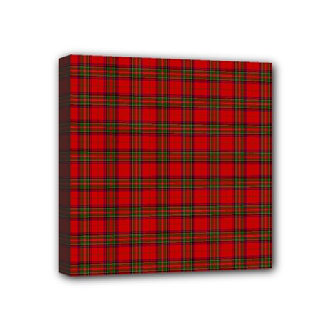 The Clan Steward Tartan Mini Canvas 4  X 4  (framed) by BestCustomGiftsForYou