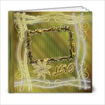 Floral elegance 6x6 book - 6x6 Photo Book (20 pages)