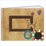 Suede Whimsy - 7x5 Photo Book (20 pages)