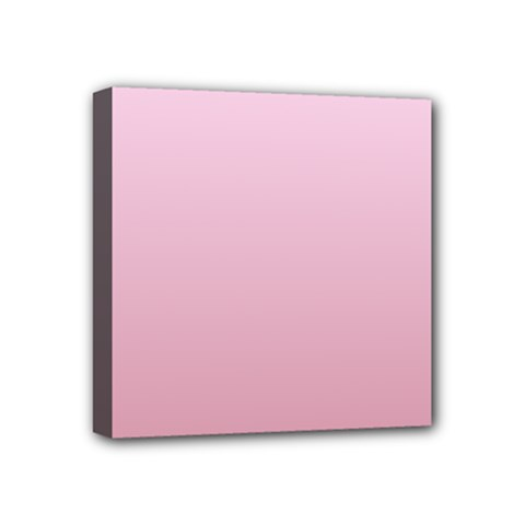 Pink Lace To Puce Gradient Mini Canvas 4  X 4  (framed) by BestCustomGiftsForYou