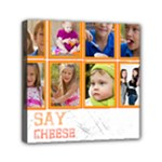 sat cheese - Mini Canvas 6  x 6  (Stretched)