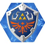 Hylian Shield - Mini Folding Umbrella