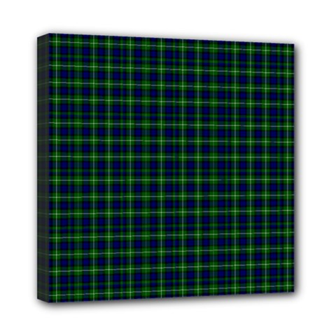 Lamont Tartan Mini Canvas 8  X 8  (framed) by BestCustomGiftsForYou