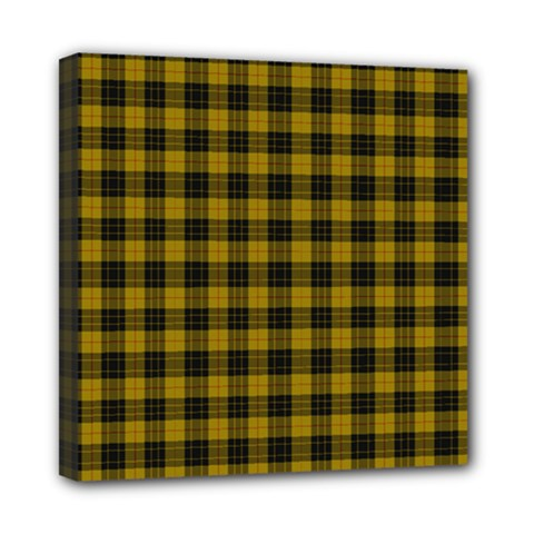 Macleod Tartan Mini Canvas 8  X 8  (framed) by BestCustomGiftsForYou