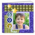 kids boy - 8x8 Deluxe Photo Book (20 pages)
