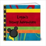 Disney story - 6x6 Photo Book (20 pages)