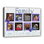 family canvas - Canvas 16  x 12  (Stretched)
