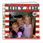 JULY 4TH - 8x8 Photo Book (20 pages)
