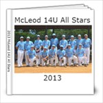 2013 McLeod - 8x8 Photo Book (20 pages)