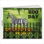ZOO DAY 2 - 9x7 Photo Book (20 pages)