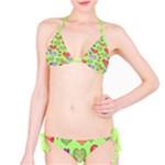 Green Heart Bikini - Bikini Set