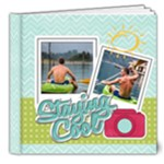 summer cool - 8x8 Deluxe Photo Book (20 pages)