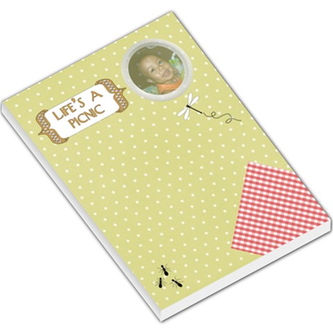 Picnic Memo By Angeye   Large Memo Pads   Kxs1oy5af4dz   Www Artscow Com