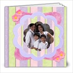 fun cupcakes 8x8 album - 8x8 Photo Book (20 pages)