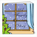 A Family Christmas Story - 8x8 Photo Book (20 pages)