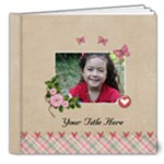 8x8  DELUXE (20 pages) -  multi frames - ANY THEME - 8x8 Deluxe Photo Book (20 pages)