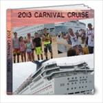 2013 Carnival Cruise - 8x8 Photo Book (20 pages)