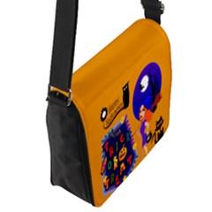 Flap Closure Messenger Bag (S)