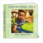 Ocean 7-8 mths to pak - 6x6 Photo Book (20 pages)