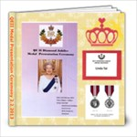 QEII Diamond Jubilee Medal 2.2.13 - 8x8 Photo Book (20 pages)