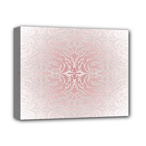 Elegant Damask Deluxe Canvas 14  X 11  (framed) by ADIStyle