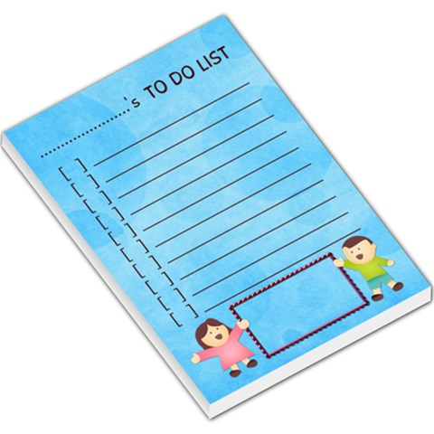 Up To Do List Pad By Shelly   Large Memo Pads   Iup2z38f2tkk   Www Artscow Com