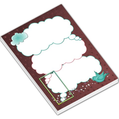 Up Up To Do List Pad By Shelly   Large Memo Pads   33qsbqwyd6ip   Www Artscow Com