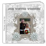 Winter Wedding delux 8x8 album - 8x8 Deluxe Photo Book (20 pages)
