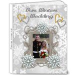 Winter Wedding 8x10 delux album - 8x10 Deluxe Photo Book (20 pages)