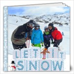 Snow Holiday - 12x12 Photo Book (20 pages)