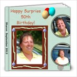 Sharon Birthday--Revised - 8x8 Photo Book (20 pages)