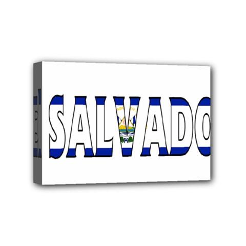 El Salvador Mini Canvas 6  x 4  (Framed)