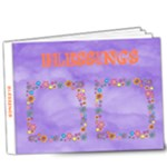 Blessings delux 9X7 photo book - 9x7 Deluxe Photo Book (20 pages)