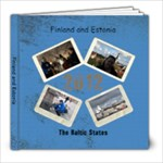 Finland and Estonia - 8x8 Photo Book (20 pages)
