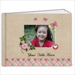 9x7 multi frames - ANY THEME - 9x7 Photo Book (20 pages)