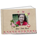 9x7 (DE LUXE) multi frames - ANY THEME - 9x7 Deluxe Photo Book (20 pages)