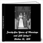 Anniversary Album - 12x12 Photo Book (20 pages)